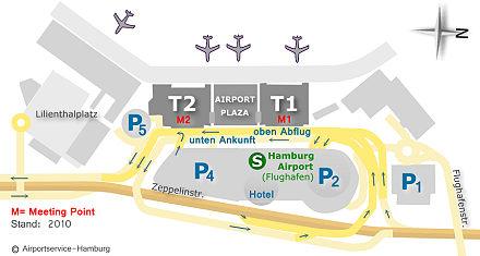 Großraumtaxi Hamburg Flughafen, Fahrdienst Hamburg